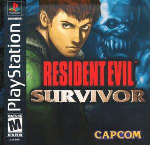 Игры для Playstation 1  / Resident Evil Gun Survivor