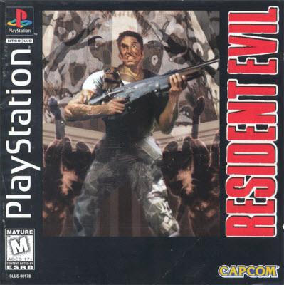 Игры для Sony Playstation 1 /  Resident Evil 1