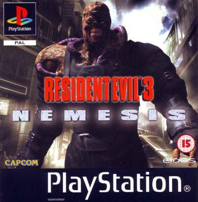 Игры для Sony Playstation 1 / Resident Evil 3 Nemesis