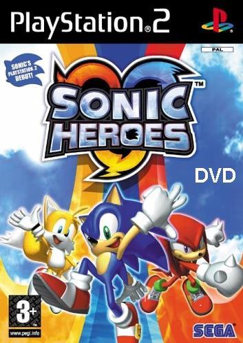 Sonic Heroes скачать на PC / PS2
