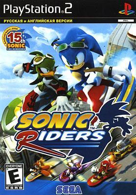 Sonic Riders  скачать бесплатно  на Ps2