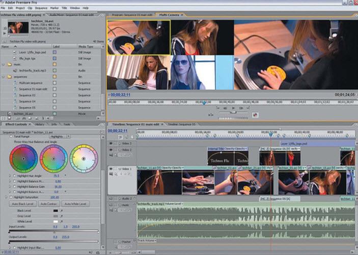 Программа для сотворения видео из видеомонтажа